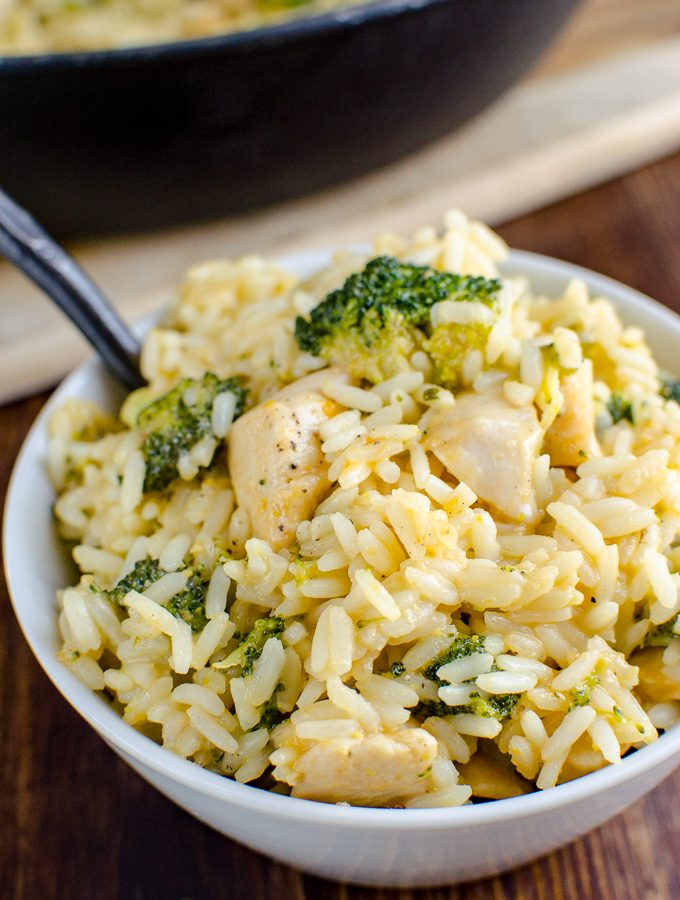 Syn Free Chicken Broccoli Cheddar Rice | Slimming World