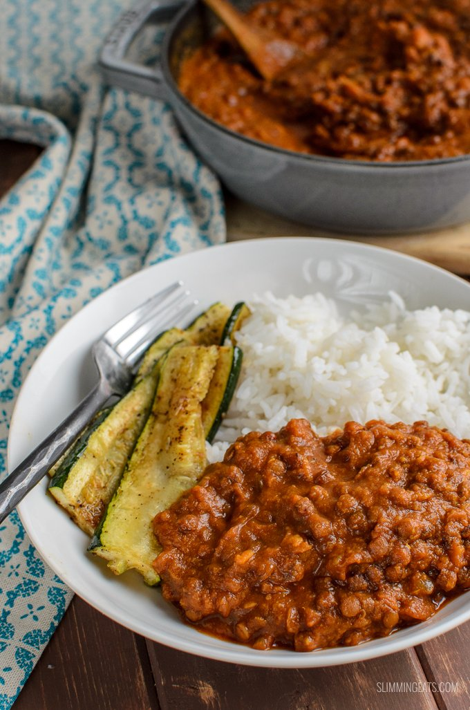 Fill a bowl with some of this delicious Syn Free Spicy Sweet Potato and Lentils, a delicious combination of spice and sweetness for a hearty healthy meal. Gluten Free, Dairy Free, Vegan, Slimming World and Weight Watchers friendly