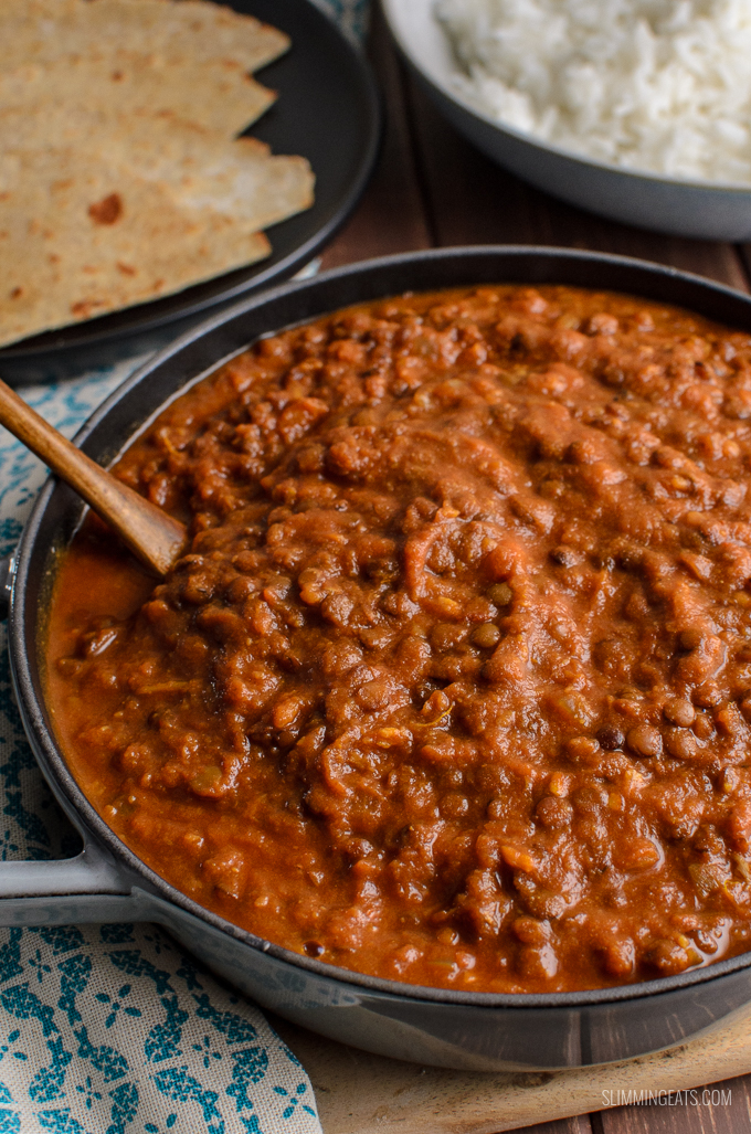 Fill a bowl with some of this delicious Syn Free Spicy Sweet Potato and Lentils, a delicious combination of spice and sweetness for a hearty healthy meal.Gluten Free, Dairy Free, Vegan, Slimming World and Weight Watchers friendly
