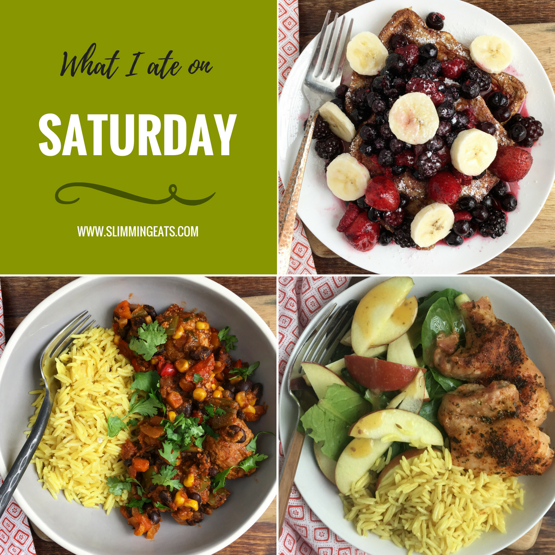 What I Ate This Week on Slimming World – Week 2 – See what I ate for week two with my full food diary including my weight loss. This is so much better than just a basic Meal Plan because you will see the food exactly how it was made and enjoyed. | www.slimmingeats.com #slimmingworld #fooddiary #whatiatethisweek