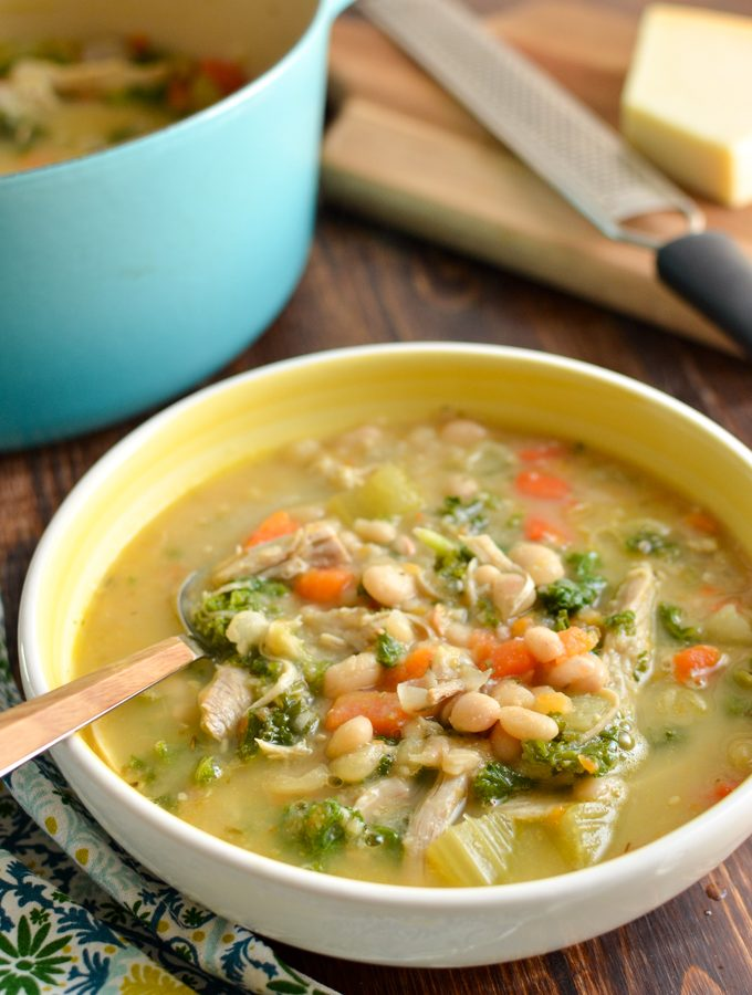 Syn Free Tuscan Chicken and White Bean Soup | Slimming World