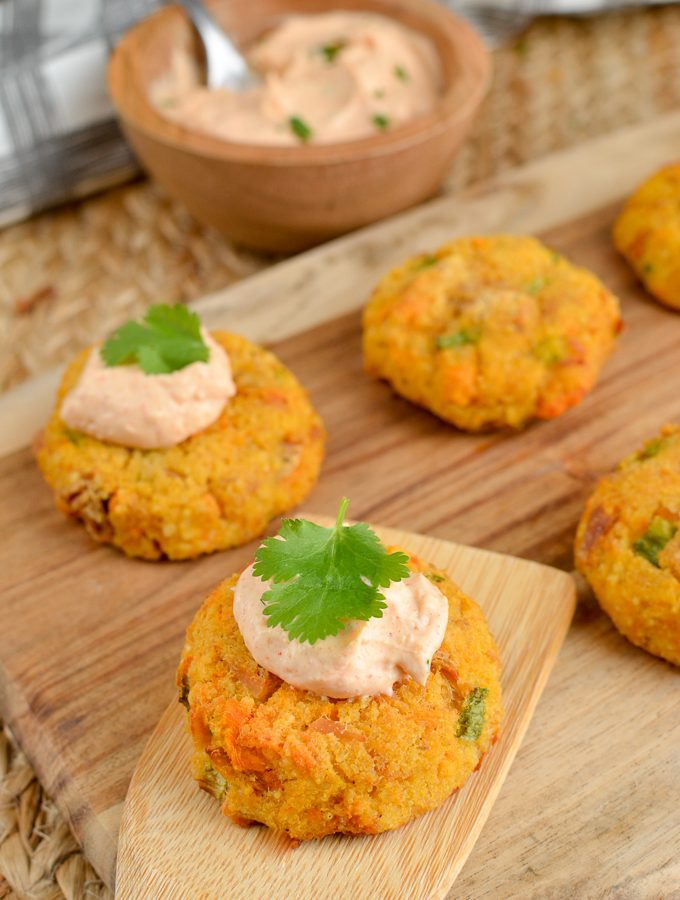 Syn Free Mini Tuna Couscous Patties | Slimming World