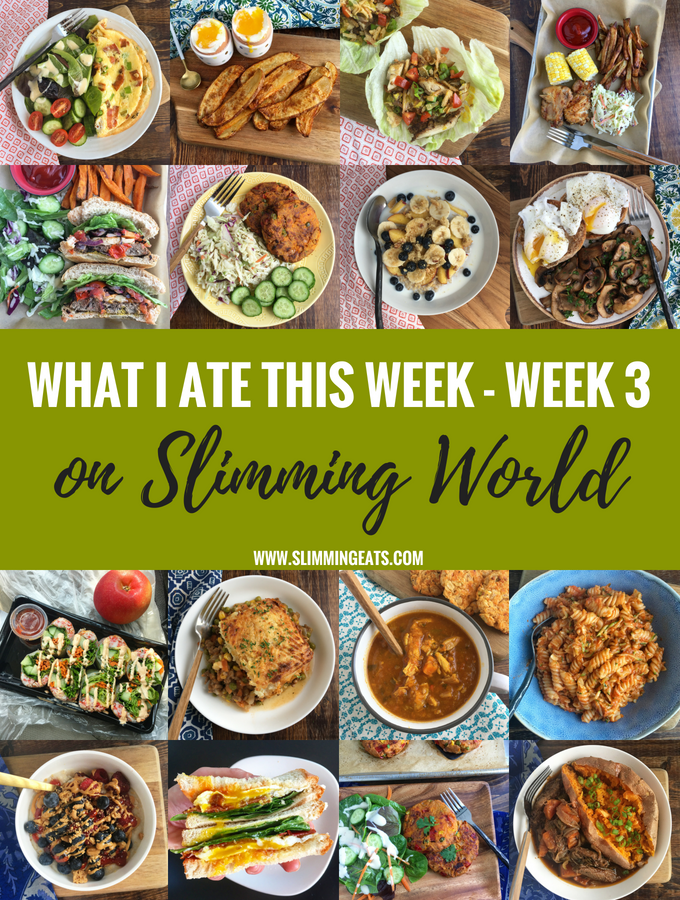 What I Ate This Week On Slimming World – Week 3
