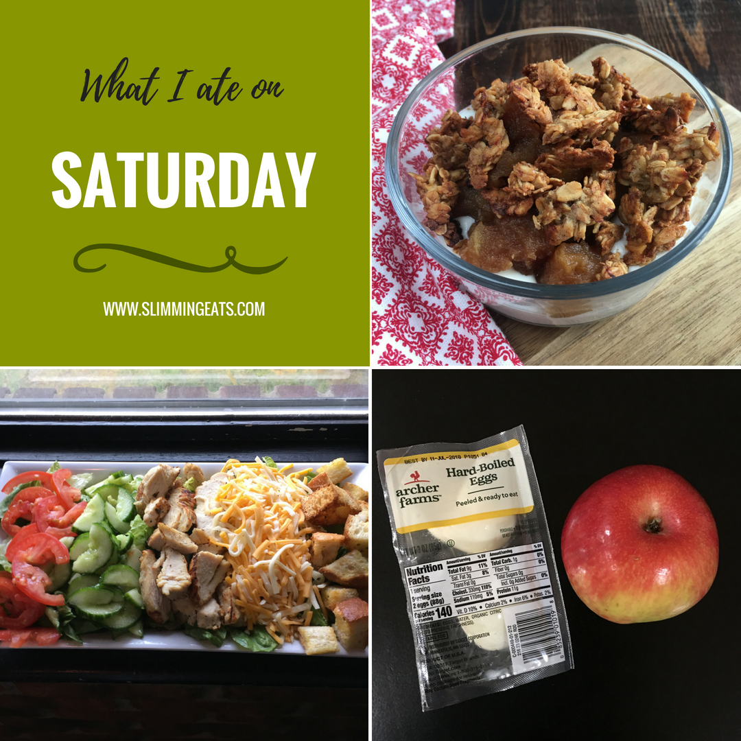 What I Ate This Week on Slimming World – Week 4 – My new addition to the blog, where I will share my weekly food diary. This is so much better than just a basic Meal Plan because you will see the food exactly how it was made and enjoyed. #FOODDIARY #MEALPLAN