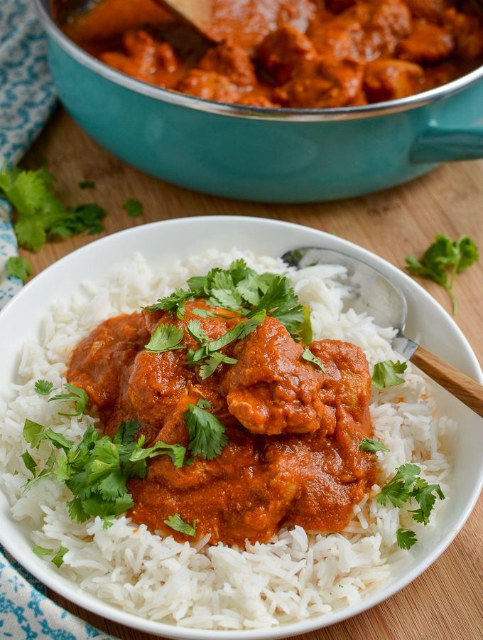 Low Syn Healthy Butter Chicken (Murgh Makhani) | Slimming World