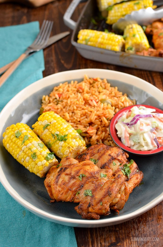 This is the Ultimate Syn Free Nando's Peri Peri Chicken Fakeaway - a truly mouthwatering delicious meal you can create at home. Gluten Free, Dairy Free, Slimming World and Weight Watchers friendly