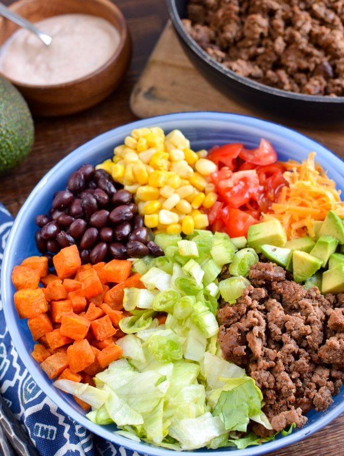 Low Syn Taco Salad Bowl | Slimming World