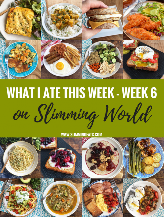What I Ate This Week on Slimming World – Week 6