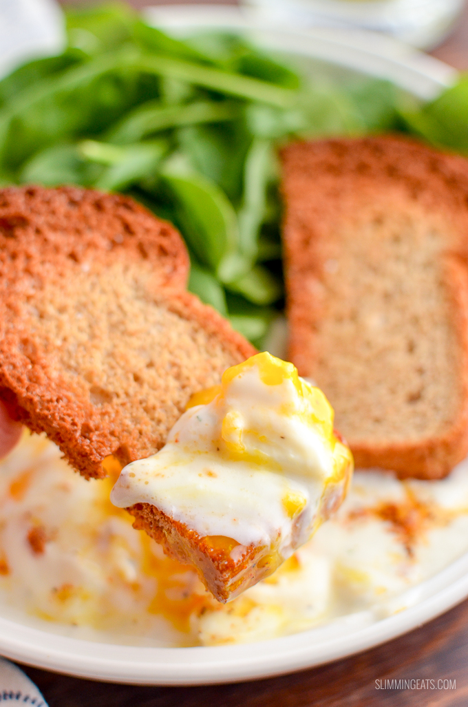 Once you try these amazing Low Syn Turkish Poached Eggs in yoghurt you will not want to eat poached eggs anyother way ever again. | vegetarian, Slimming World and Weight Watchers friendly