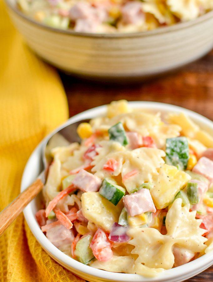 Low Syn Hawaiian Pasta Salad