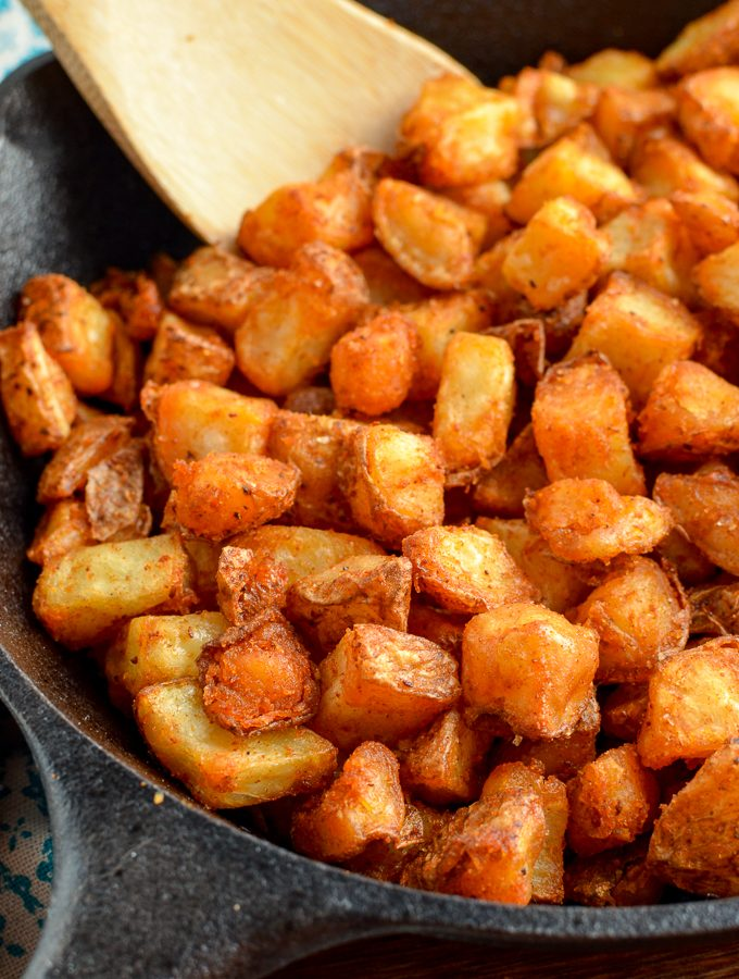 Syn Free Breakfast Home Fries (Actifry or Oven)