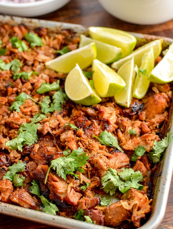 Low Syn Pineapple Mexican Pork Carnitas (Slow Cooker and Pressure Cooker)