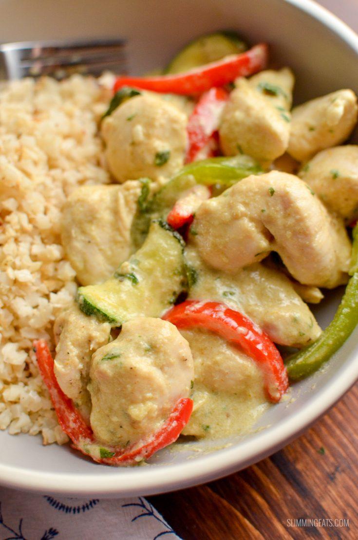 Spiced Thai Chicken Curry