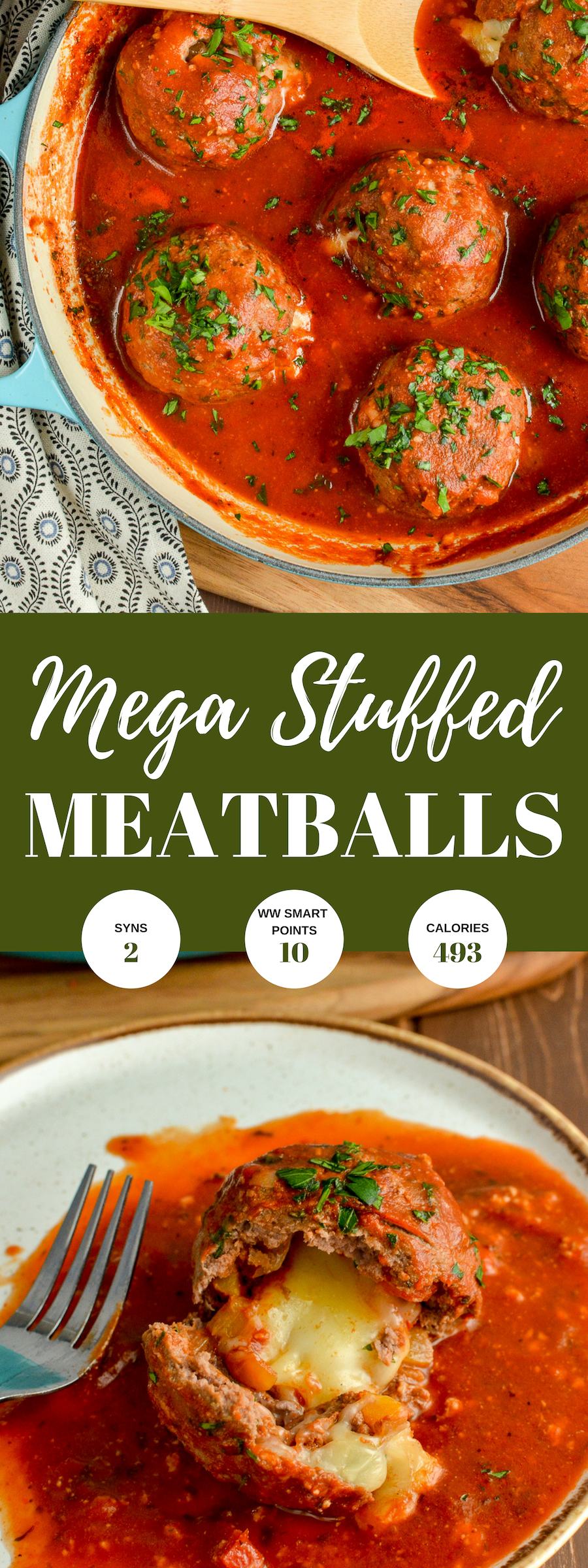MEGA STUFFED MEATBALLS PIN IMAGE