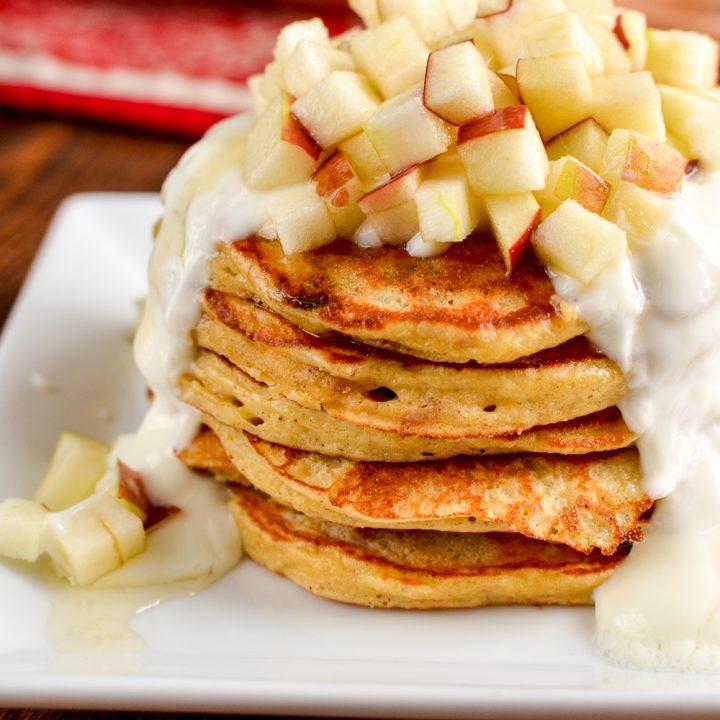 Christmas Mince Pie Pancakes
