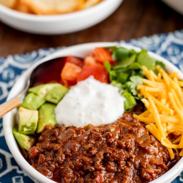 Syn Free Instant Pot Chocolate Chilli