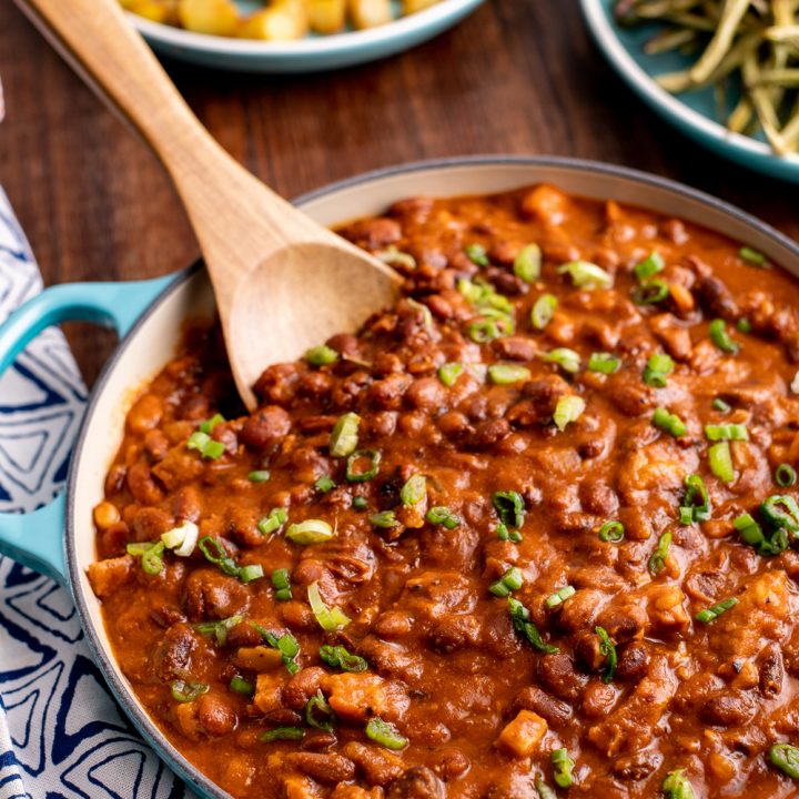 Instant Pot Cajun Pork and Beans