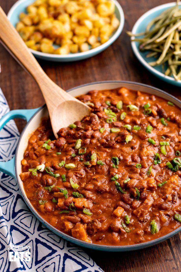 Instant Pot Cajun Pork and Beans