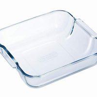 Pyrex Borosilicate Glass Square Roaster, 21x21cm