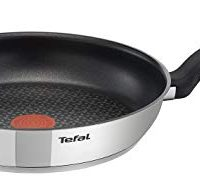 Tefal 30 cm Comfort Max, Induction Frying Pan, Stainless Steel, Non Stick