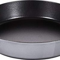Staub 40511726–Cast Iron Frying Pan with Two Handles–Grey, 26cm