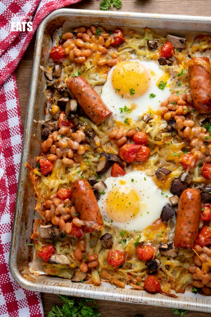 All Day Breakfast Tray Bake