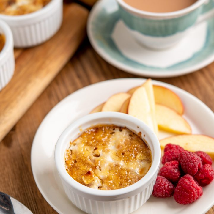 Hot Cross Bun Baked Oats