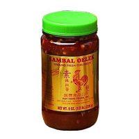 Huy Fong Foods Inc., Sambal Oelek, Ground Fresh Chili Paste, 8 oz (226 g)