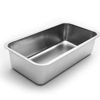 Fox Run Bread/Meat Loaf Pan Kitchen Bakeware Stainless Steel NEW