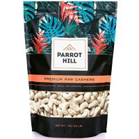 Cashew Nuts 1kg - 100% Raw Whole Cashews 1 kg Bag - Extra Large Premium Quality Nut - Source of Protein & Fibre - Gluten Free, Non-GMO & Vegan