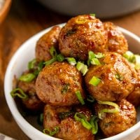 Sweet Chilli Chicken Meatballs (Oven or Actifry)