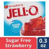 JELL-O JELLO Sugar Free Strawberry Jelly Mix, 8.5 g