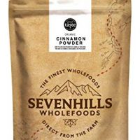 Sevenhills Wholefoods Organic Raw Cinnamon Powder (True Ceylon) 250g