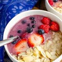 Low Syn Oatmeal Smoothie Bowl