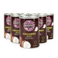 Biona Coconut Milk 400ml x6