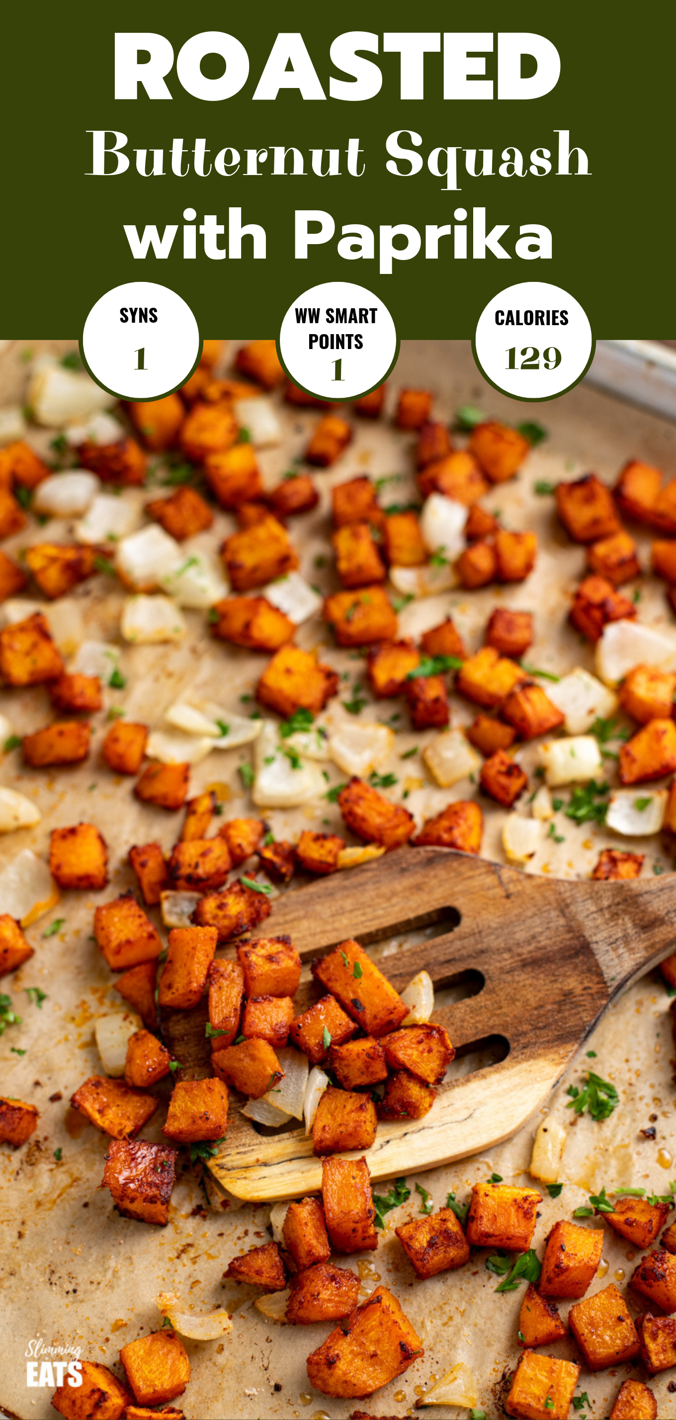 roasted butternut squash featured pin