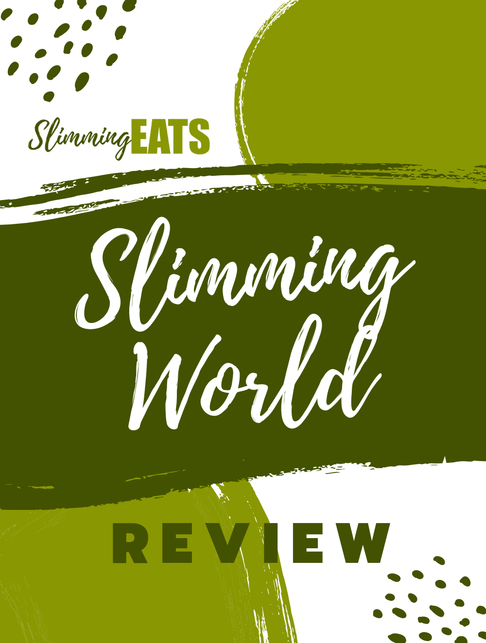 Slimming World review pin image