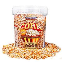 Popping Corn - USA Popcorn Kernels - 850g - 1ltr Tub - Nut & Gluten Free - Microwavable