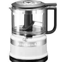 KitchenAid 5KFC3516 Classic Mini Food Processor, 240 W, 830 ml, White