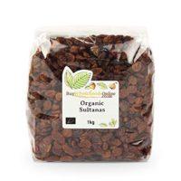 Organic Sultanas 1kg (Buy Whole Foods Online Ltd.)