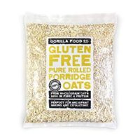Gorilla Food Co. Gluten Free Pure Rolled Porridge Oats - 800g