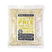 Gorilla Food Co. Gluten Free Pure Rolled Porridge Oats - 800g