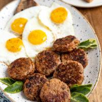 Homemade Turkey Breakfast Sausage Patties (Gluten Free)