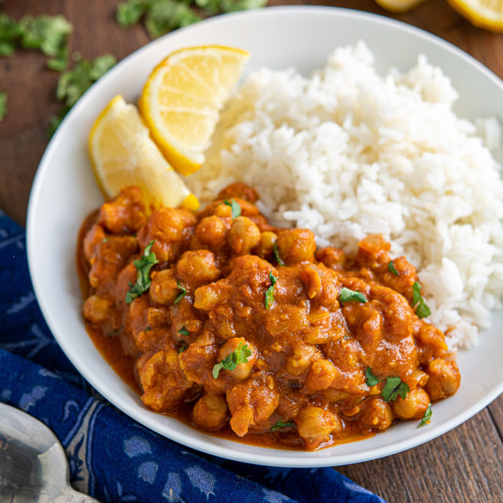 Vegan Tikka Masala (Instant Pot or Stove Top)