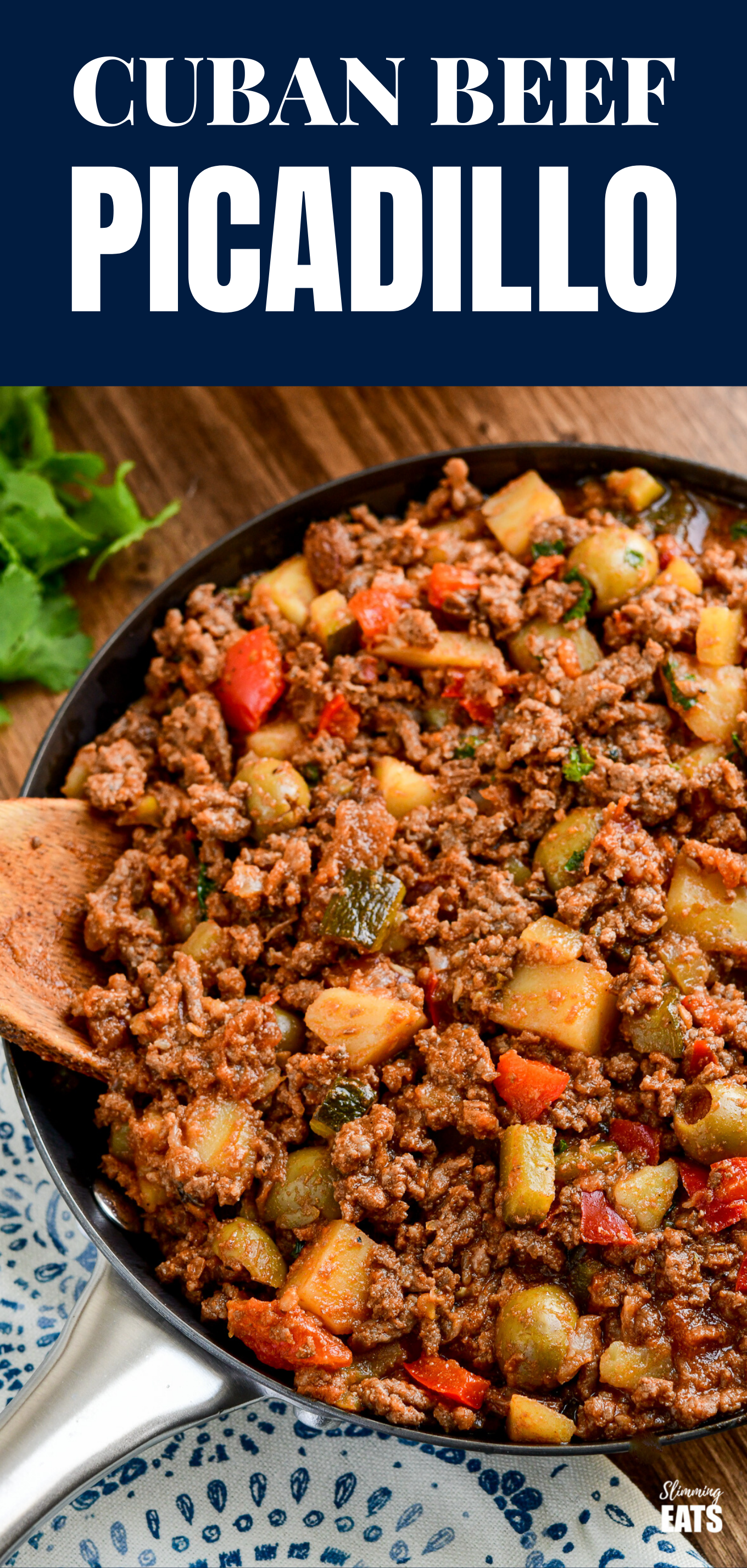 cuban beef picadillo feature pin image