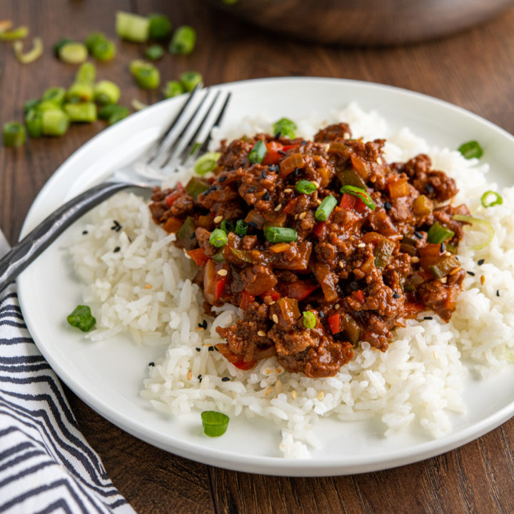 Easy Asian Ground Beef Bowl