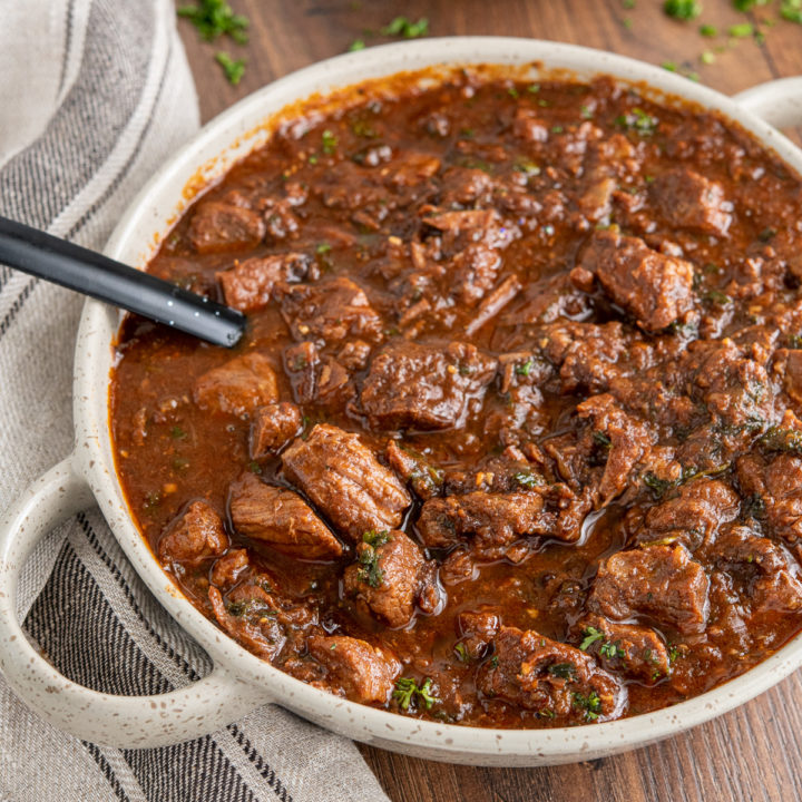 Rich Beef and Prune Stew (Instant Pot or Slow Cooker)