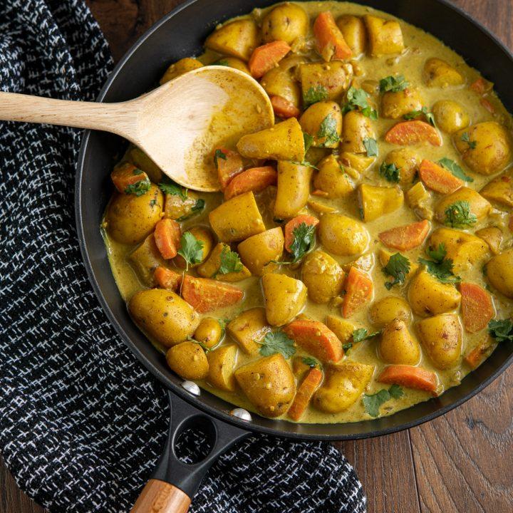 Creamy Coconut Potato Curry