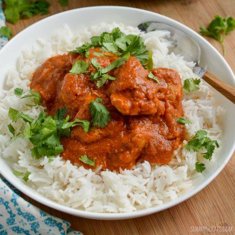 Healthy Butter Chicken (Murgh Makhani)
