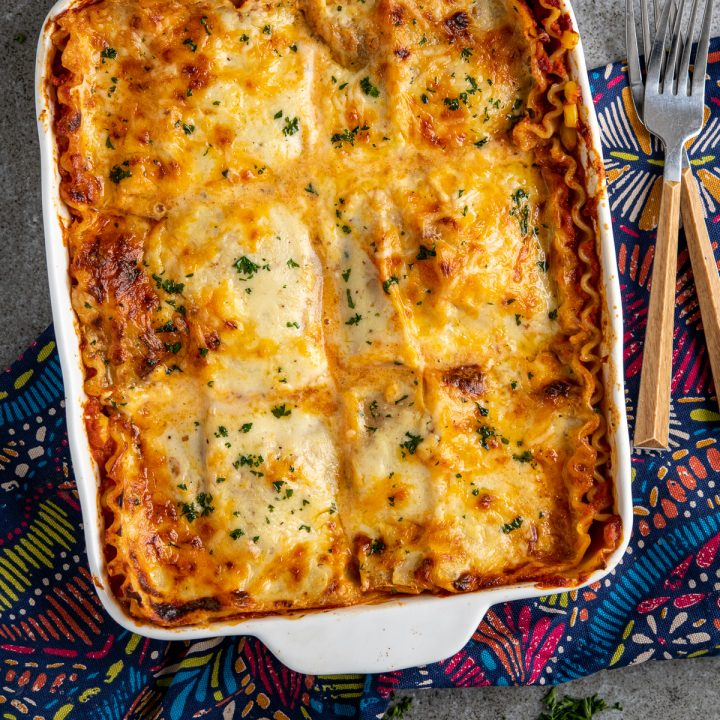 Chicken and Sweetcorn Lasagne